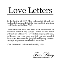 Love Letters: Home is Not Home Without You