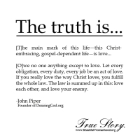 Christian Love and Putting on Christ
