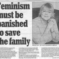 Feminism Must Be Banished to Save the Family