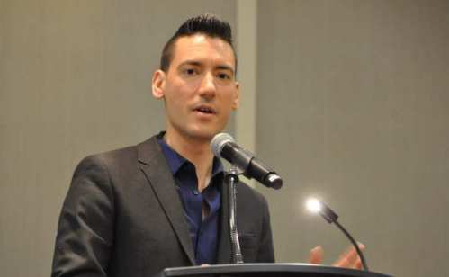 Center for Medical Progress lead investigator David Daleiden speaks at an event in Washington, DC, before the 2016 March for Life. Lisa Bourne / LifeSiteNewS