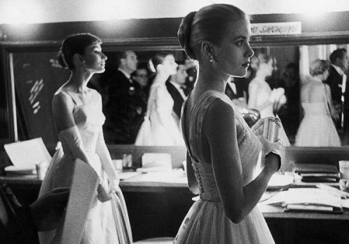 Audrey Hepburn and Grace Kelly