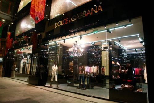Dolce & Gabbana store front via Flickr (CC BY-NC-ND 2.0)